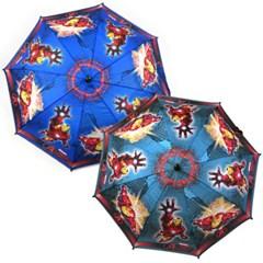 마블 아이언맨 레드보드 53 우산 (블루/그레이)_(1196623)