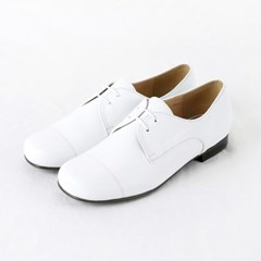 HS1706 Derby Shoes_White Goat