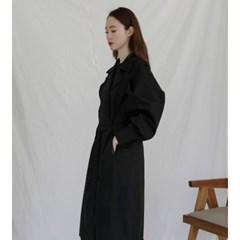 [치즈달] 볼륨 트렌치 코트