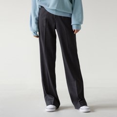 stripe pattern maxi slacks