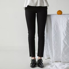 black flexible semi skinny