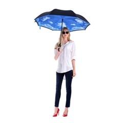스마트 가꾸로 장우산 골프우산