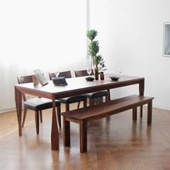 [헤리티지월넛] A5형 식탁/테이블 세트 2200