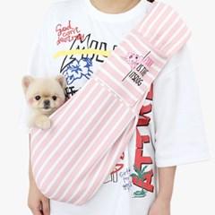 핑크팬더 캥거루 슬링백_핑크