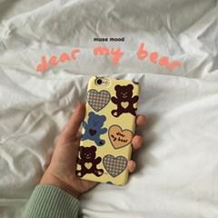 [뮤즈무드] dear my bear (디어마이베어) 아이폰케이스