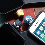 마블 피규어 슬라이드 카드 케이스 아이폰 갤럭시 LG