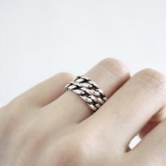 SV925 CHAIN BOLD RING