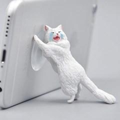 의리의 고양이 스마트폰 거치대