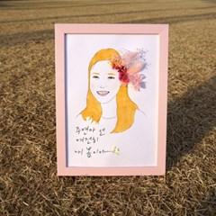 [텐텐클래스] (대구) 꽃을 닮은 나를 그리는 초상화