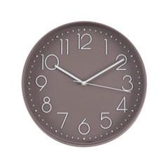 TT 스톡홀름 모던벽시계 초콜렛브라운_(652057)