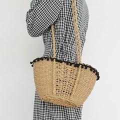 Natural string pull bag