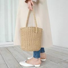 Straw bucket paper bag