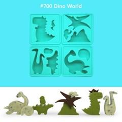 [실리콘얼음틀] eeeek story mold #700 Dino world