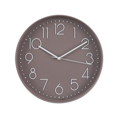 TT 스톡홀름 모던벽시계 초콜렛브라운_(652114)