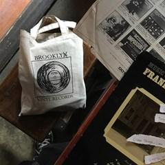 VINYL RECORD BAG / Black