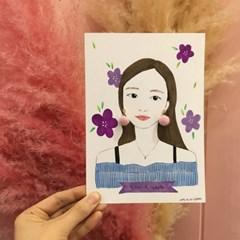 [텐텐클래스] (창원) 내가 만든 귀걸이를 한 소녀