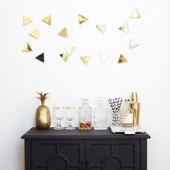 [Umbra] Confetti Triangles-Brass-16Pcs 월데코 벽장식