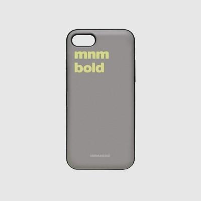 [스리살짝] minimal and bold card (3color) 카드케이스