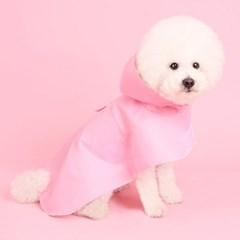 판초레인코트(pink) Poncho raincoat