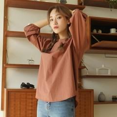 Mood crunch blouse