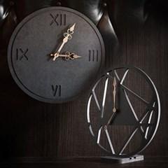 무소음 인테리어 벽시계 벽걸이시계 탁상시계 받침대 - 부속품
