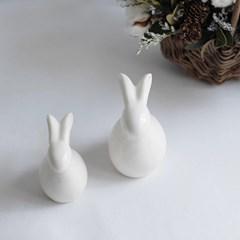 북유럽 토끼 도자기 인형