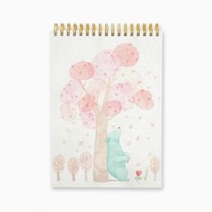 아티스트 드로잉북 - PINK TREE