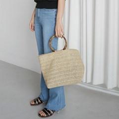 Wooden string pull bag