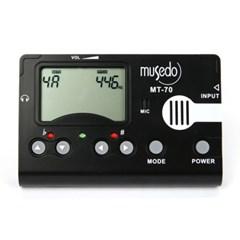 Musedo/뮤세도 기타,베이스 전용 디지털 튜너기/MT-70_(858879)