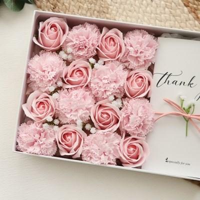 향기가득 핑크 플라워용돈박스 [2color]