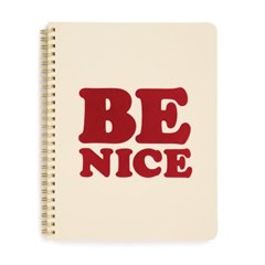 ROUGH DRAFT MINI NOTEBOOK-be nice(유선노트)