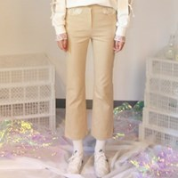 Lace Boot-Cut_Beige
