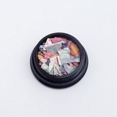 트렌드 믹스컬러 판자개 조각(case)-6/젤네일재료_(2628730)