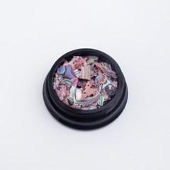 트렌드 믹스컬러 판자개 조각(case)-7/젤네일재료_(2628729)