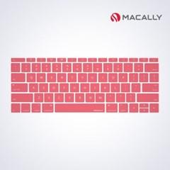 맥북 12인치 키보드키스킨핑크 /맥북프로13논터치바모델지원