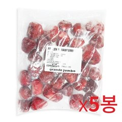 냉동-맥그로우앤마리 점보 딸기 1kg 5개묶음_(658220)