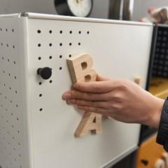 [채우리] 다담 큐브 스틸 다용도 공간박스 액세서리