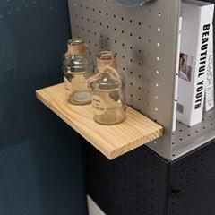 [채우리] 다담 큐브 스틸 다용도 공간박스 원목선반