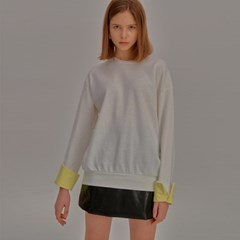 Multi Color Sweat Shirt_White_(798188)