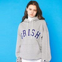 GRISH Signature Hoodie-(GRAY/BLUE)