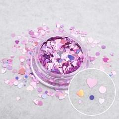 스페셜 로맨틱 믹스글리터-AB핑크(case) /네일글리터/하_(2643830)