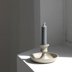 [모노뜨] 알루미늄 촛대 6cm (아이보리)