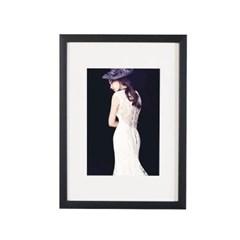 블랙-A4 매트 홈갤러리 벽걸이 액자