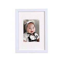 화이트-5x7 매트 홈갤러리 벽걸이 액자