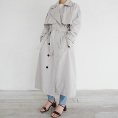 Modern mood trench coat