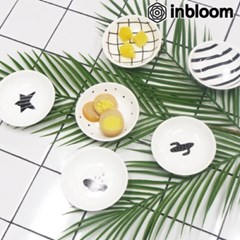 S.미니 패턴&아이콘 접시(3개입 세트)