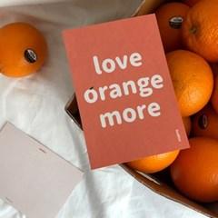POSTCARD-orange more