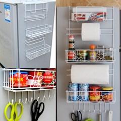 냉장고걸이 수납선반 냉장고사이드 걸이선반