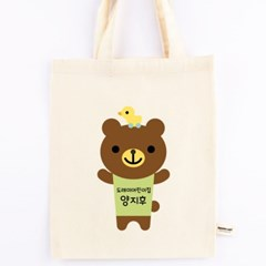 [주문제작]에코백미니애니멀_곰