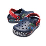 [Crocs 공식] Crocband Fun Lab Lights Clg K-Navy